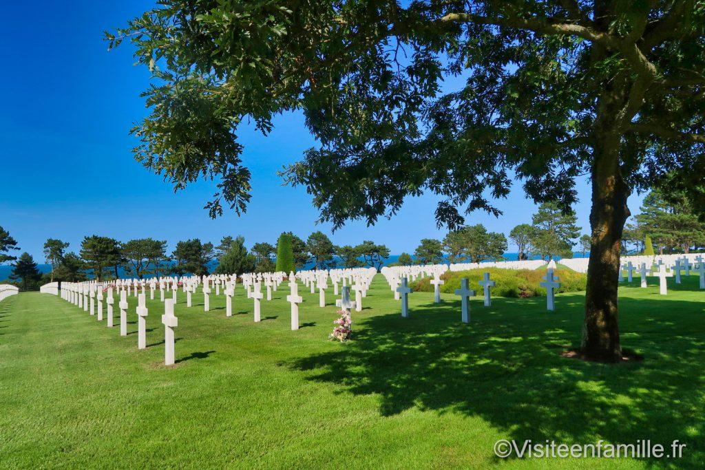 cimetière américain de Colleville sur mer