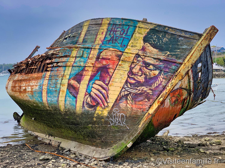 Bateau Cimetière marin de Quelmer