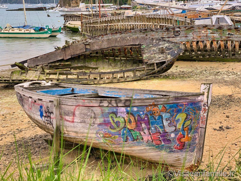 cimetière de bateaux Saint-Malo Quelmer bretagne