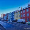 maisons colorées de Reykjavik,maisons colorées reykjavik
