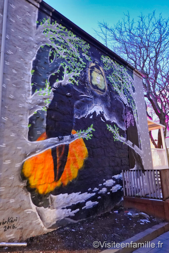 street-art Reykjavik