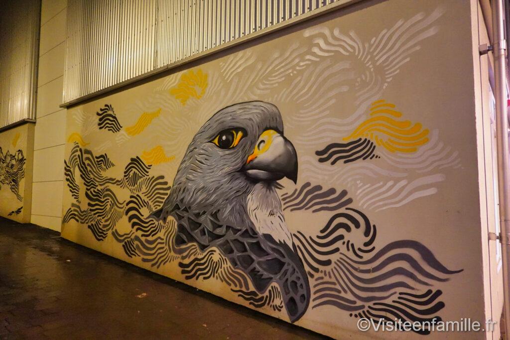 Le pigeon de Reykjavik