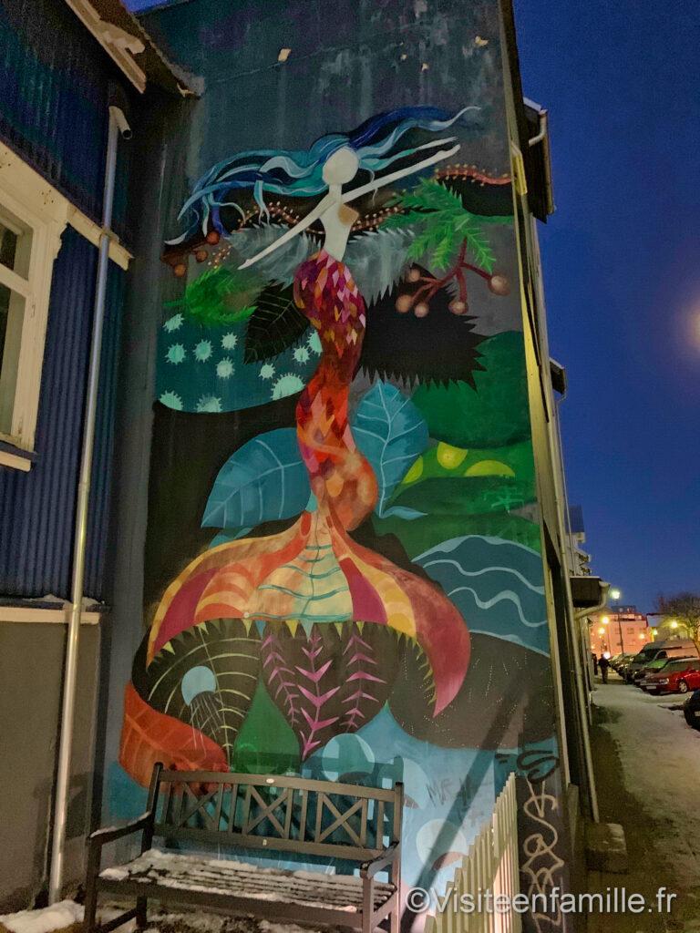 la sirène de Reykjavik