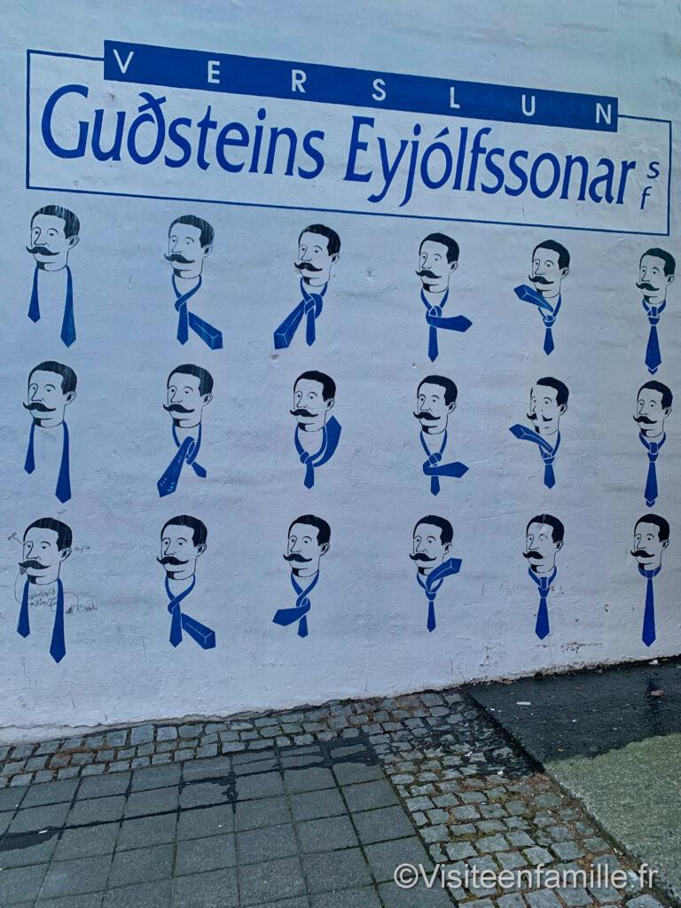 comment nouer un nœud de cravate Reykjavík