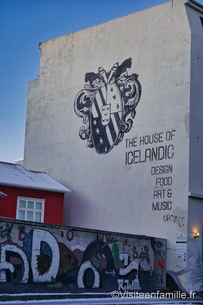 emblème de l'islande