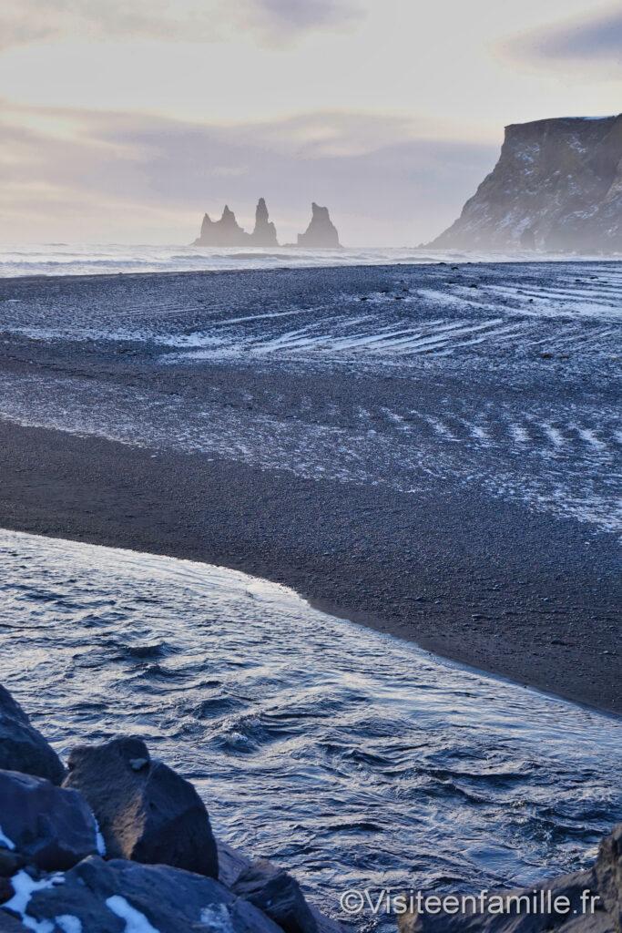 sable noir vík í mýrdal islande