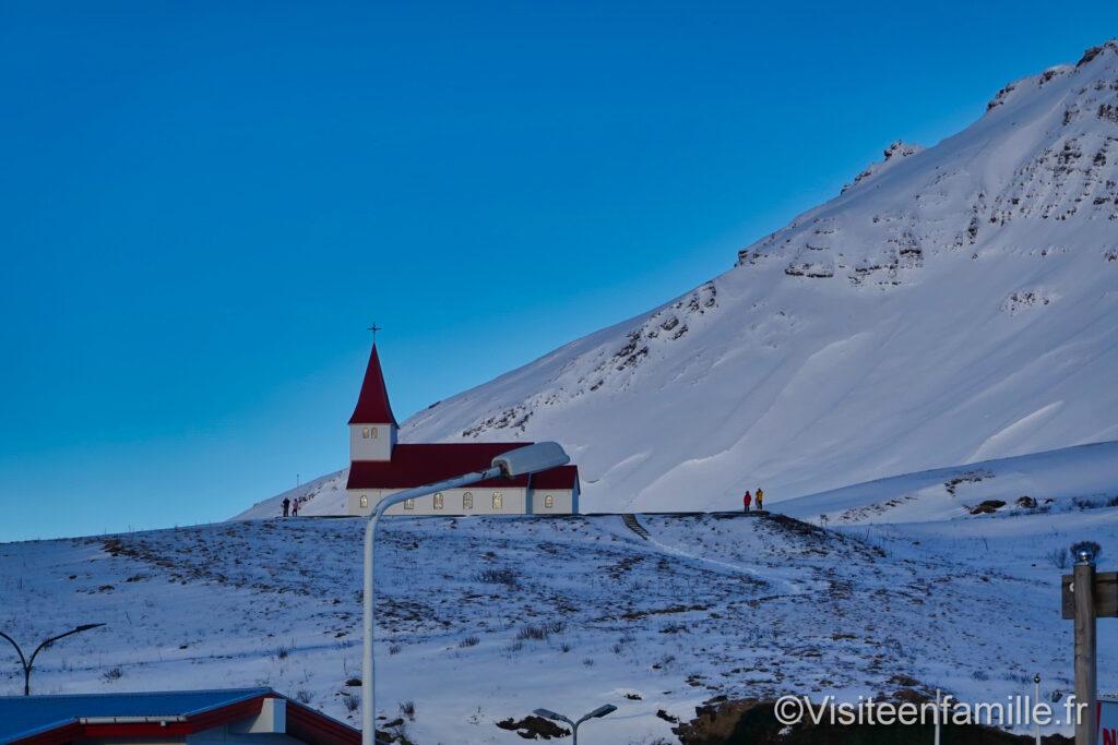 Eglise Vík í Mýrdal
